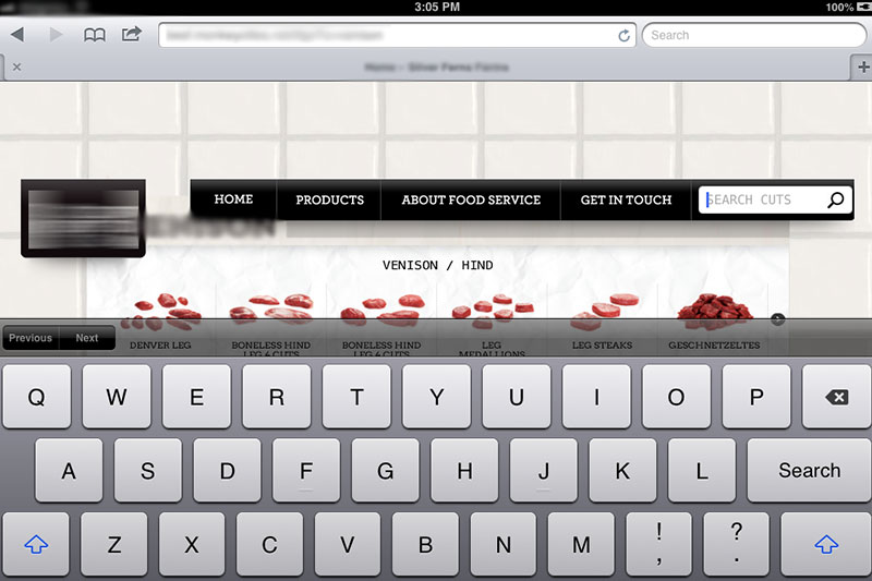 Fixed header and footer issue on iOS device